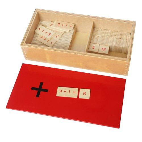Montessori Addition Equations And Sums Box
