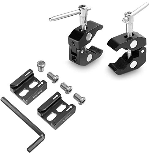 SmallRig-2-Pack-Super-Clamp-Magic-Arm-Clamp-and-Cold-Shoe-Mount-Adapter