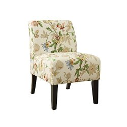 ACME Ollano Accent Chair – 59504 – Floral Fabric