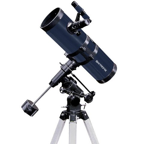 TwinStar Blue 4.5' Reflector Telescope Fast f/4.4 EQ Mount