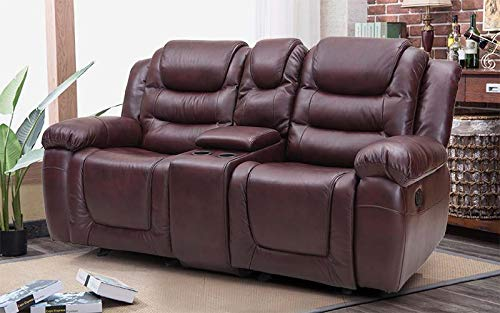 Royaloak-Plaza-Two-Seater-Recliner-Maroon