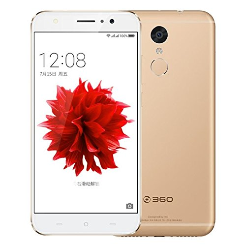 Generic 360 N4S 32GB, Network: 4G, Fingerprint Identification, 5000mAh Battery, 5.5 inch Android 6.0 MTK Helio X20 Deca Core 2.1GHz, RAM: 4GB, Support OTG, Dual SIM(Gold)