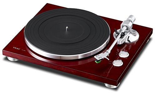 TEAC TN-300 Analog Turntable with Built-in Phono Pre-amplifier & USB Digital Output (Cherry)