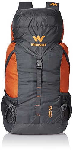 45 Ltrs Grey and Orange Wildcraft Rucksack, coming events