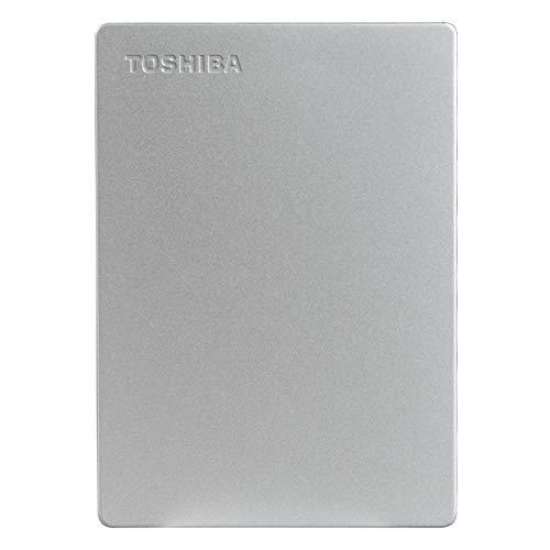 Toshiba Canvio Slim 2TB USB 3.0 External Hard Drive (Silver) 11