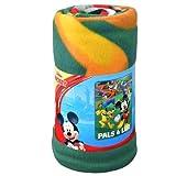 Disney Mickey Mouse Roadster Racers 45x60 Fleece Throw Blanket