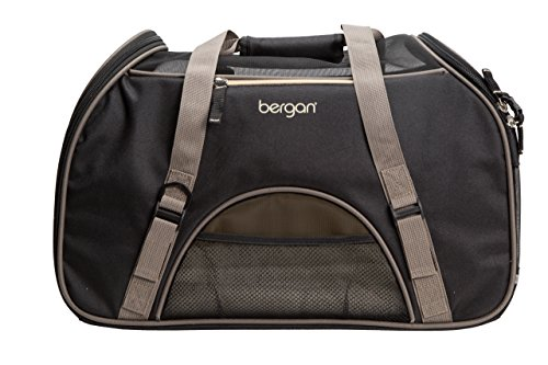 Bergan Comfort Carrier for Pets, Brown and Black, Large 19'L x 10'W x 13'H