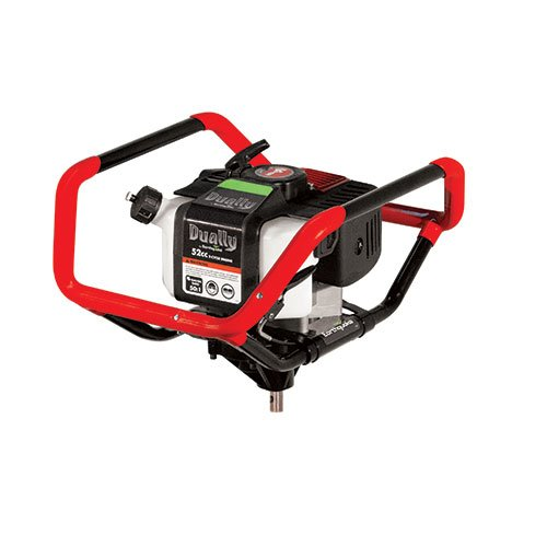 Earthquake 10310 Dually 1 or 2-Person Earth Auger Powerhead - 52cc 2-Cycle Viper Engine