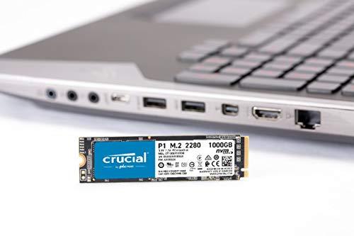 Crucial P1 1TB 3D NAND NVMe PCIe M.2 SSD - CT1000P1SSD8 6