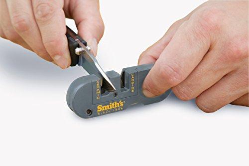 Smith's PP1 Pocket Pal Multifunction Sharpener, Grey