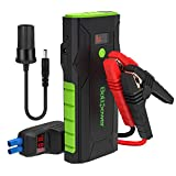 Bolt Power G33A 12V Car Jump Starter 1500A Peak Battery Booster for Gasoline 8L, Diesel Engines up to 6.5L, Dual USB Ports and Type-C Portable Power Pack, Built-in LED Flashlight
