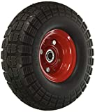 10' Flat Free Hand Truck Tire and Wheel with 5/8' Center Shaft Hole