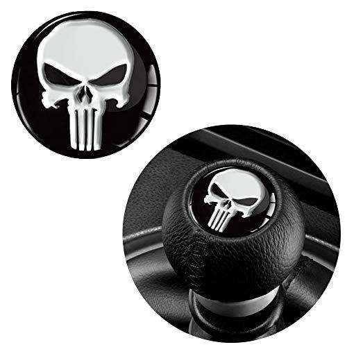 1 x 3D Sticker for Gear Shifter Knob Punisher S 53