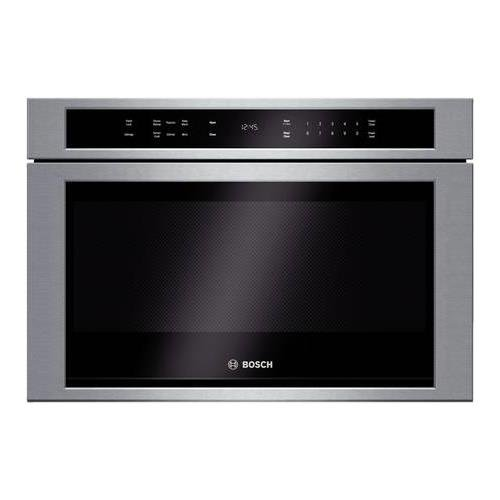 "Bosch HMD8451UC 800 24"" Stainless Steel Microwave Drawer"