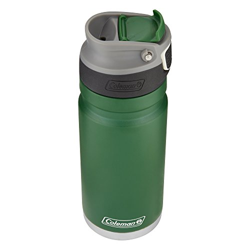 Coleman ReCharge AUTOSEAL Insulated Stainless Steel Thermal Mug, Heritage Green, 17 oz.