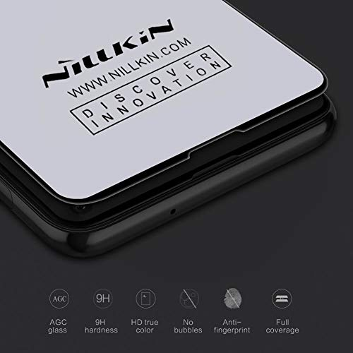 """4167hCncPhL - Nillkin Tempered Glass for Samsung Galaxy S10e S 10e (5.8"""" Inch) 3D CP+ Max Glass 0.1mm Thin Edge Shaterproof Full Screen Coverage Explosion Proof Screen Protect Black Color"""