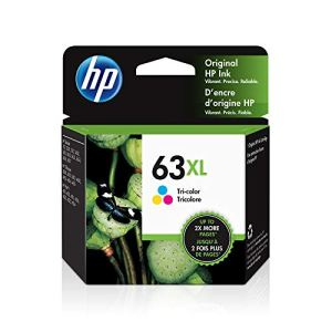 HP 63XL | Ink Cartridge |Tri-color | Works with HP DeskJet 1112, 2100 Series, 3600 Series, HP ENVY 4500 Series, HP…