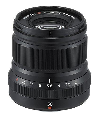 Fujinon XF50mmF2 R WR Lens – Black