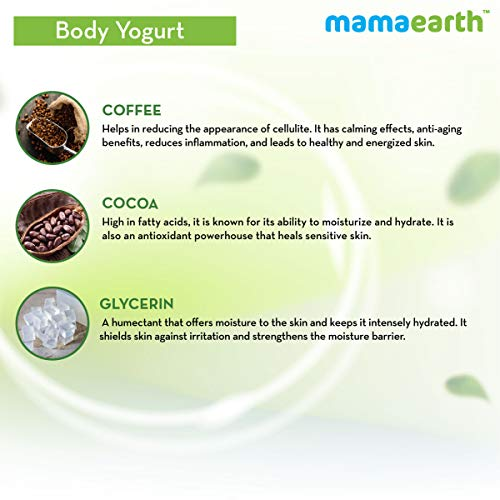 416EobsuM8L - Mamaearth CoCo Yogurt, lotion for woman, with Coffee and Cocoa for Rich Moisturization - 200 ml