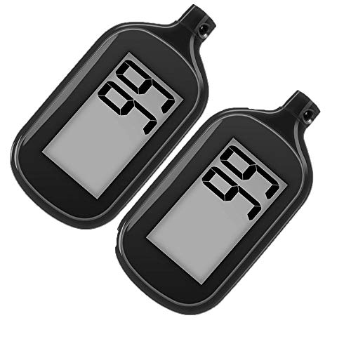 2 Pack Simple Step Counter Walking 3D Pedometer