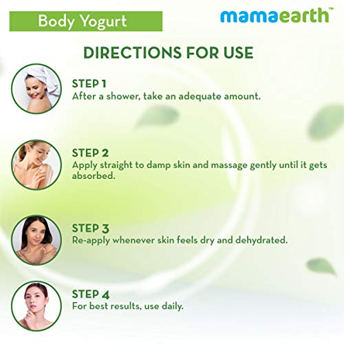 416MqltfvsL - Mamaearth CoCo Yogurt, lotion for woman, with Coffee and Cocoa for Rich Moisturization - 200 ml