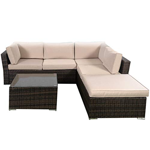 Giantex 4-Piece Patio Furniture Set Review
