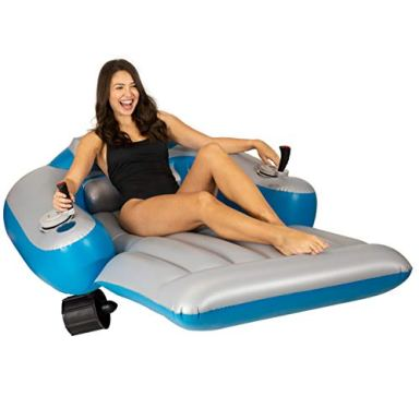 Poolcandy-Splash-Runner-Motorized-Inflatable-Swimming-Pool-Lounger-Fun-Cool-Powered-Float-for-Any-Pool-or-Lake