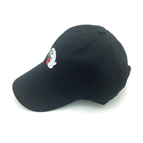 Distressed Boo Mario Ghost Baseball Cap 3D Embroidery Dad Hats Adjustable  Snapback 4c5fd60971c7