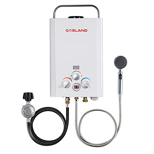 Tankless Water Heater, Gasland BE158 1.58GPM 6L Outdoor Portable Gas Water...