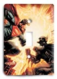 Super Man vs Batman 2 Light Switch Cover