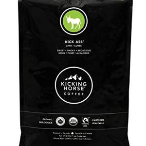 Kicking Horse Coffee, Kick Ass, Dark Roast, Whole Bean, Certified Organic, Fairtrade, Kosher Coffee, 2.2 Lb, 35.2 Ounce 10