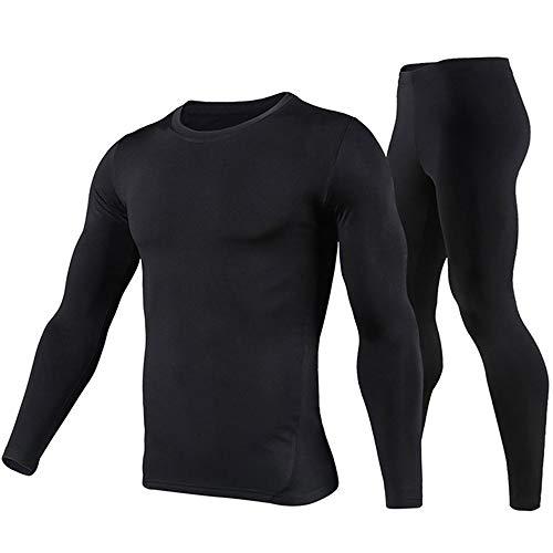 PISIQI Thermal Underwear Men Ultra-Soft Long Johns Set Base Layer Skiing Winter Warm Top & Bottom