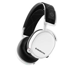 SteelSeries Arctis 7 - Lossless Wireless Gaming Headset with DTS Headphone:X v2.0 Surround - For PC and PlayStation 4 - White