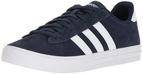 adidas Men's Daily 2.0 Sneaker, Collegiate Navy White, 9.5 M US