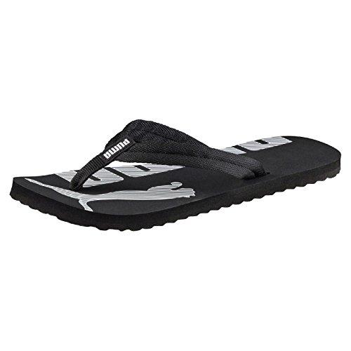 PUMA Epic Flip v2 Unisex Adult Flip Flop, Black (Black/White), 12 UK (47 EU)