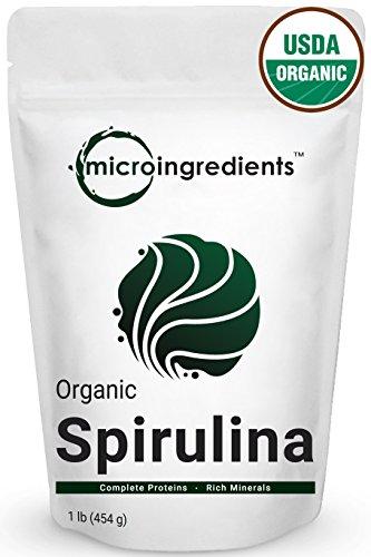 Pure Organic Spirulina Powder