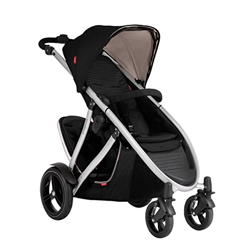 Phil and Teds Verve V3 Stroller With Doubles Kit (Black)