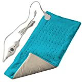 XL King Size Electric Fast-Heating Machine-Washable Pad Therapy Wrap for Body Pain | Auto Shut-Off | Extra Large Dry Heat Pad | Plush Hot Pad for Back/Neck/Shoulder Pain Relief (12' x 24')
