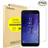 [2-Pack] Samsung Galaxy J4 2018 Screen Protector, AOLANDER [HD Clear] [Bubble Free] [Scratch-Resistant] [Anti-Fingerprint] Premium Tempered Glass Screen Protector for Samsung Galaxy J4 2018