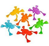 Rhode Island Novelty Plastic Jumping Frogs - 144 Piece Pack