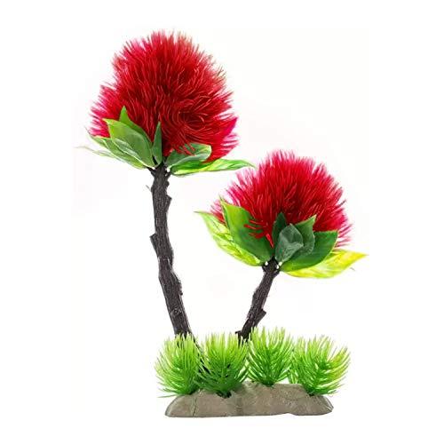 Jainsons Pet Products Plastic Plants For Aquarium Decorations Pink And Green Aquarium Plant Go Travel Blogger