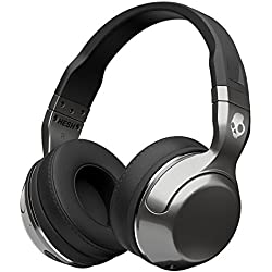 Skullcandy Hesh 2 Bluetooth Wireless Headphones with Mic, Black/Silver