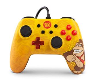 Controle Para Nintendo Switch PowerA Iconic – Donkey Kong