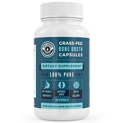 Organic, Grass-Fed Bone Broth Protein Powder...