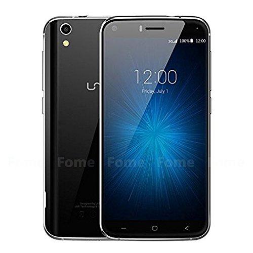 UMI LONDON 5 Inch MT6580 1.3GHz Quad Core 1GB RAM 8GB ROM 1280720LCD Android 6.0 Smartphone (Black)