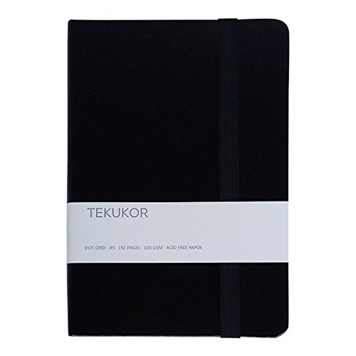 Tekukor A5 Notebook Hardcover Dot Grid
