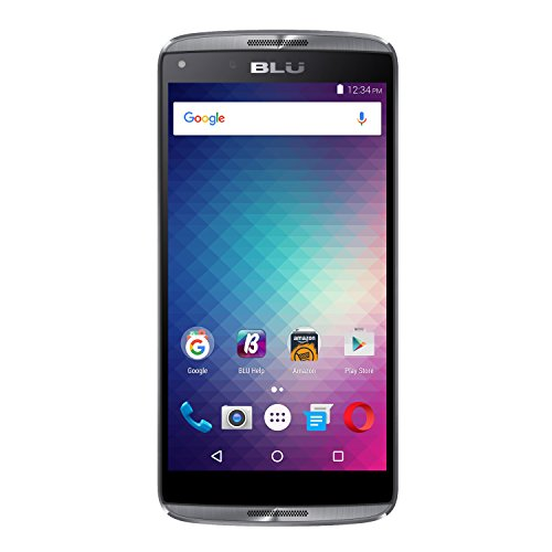 BLU Energy Diamond E130U Unlocked GSM Quad-Core Android Phone - Gray