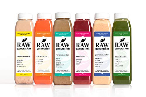 5-Day Protein Cleanse by Raw Generation – High Protein Juice Cleanse with Dairy and Soy-Free Protein Smoothies/Lose Weight Quickly While Energizing Your Workouts/Jumpstart a Healthier Diet