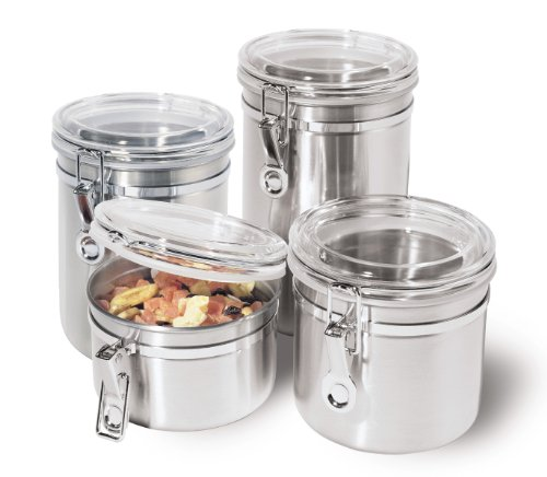 Storage Canisters Kitchen Counter