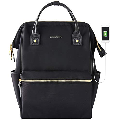 KROSER Laptop Backpack 15.6 Inch Stylish...